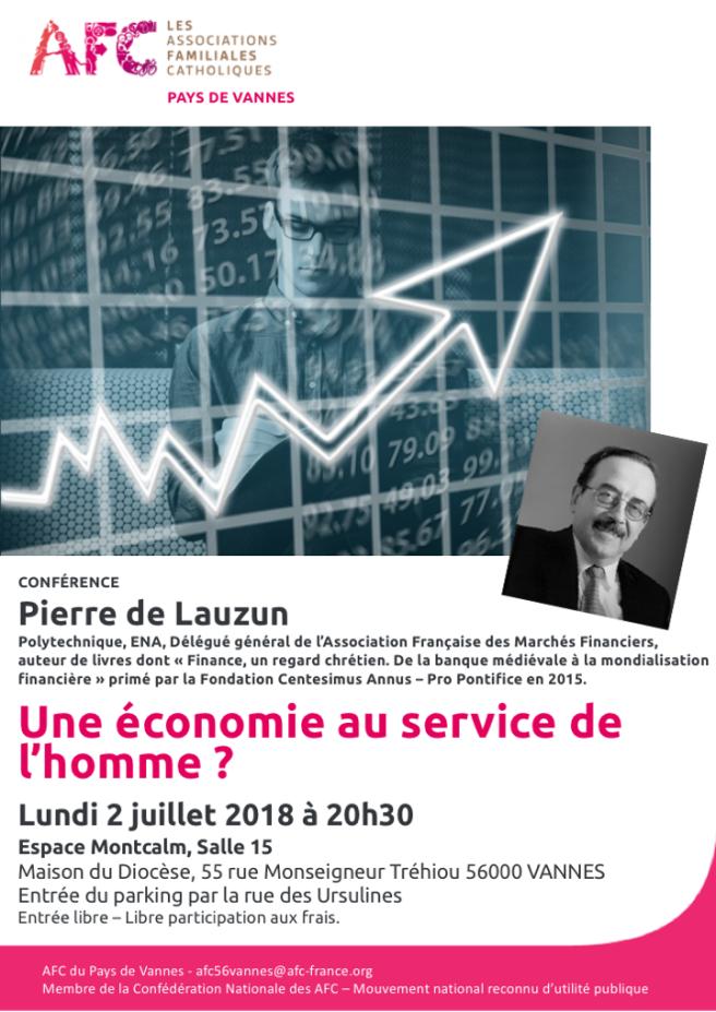 AFC - AfficheA3 - Economie Pierre de Lauzun 20180702