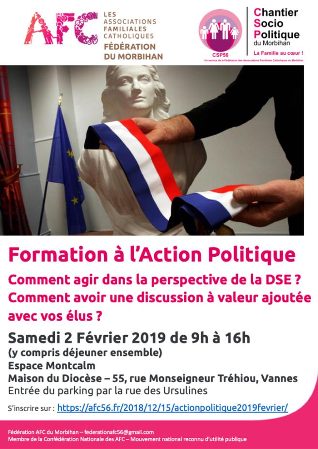 AFC56 Formation Action Politique 20190202