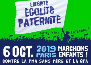 TOUS A PARIS LE Dimanche 6 octobre ! #PMASansPere