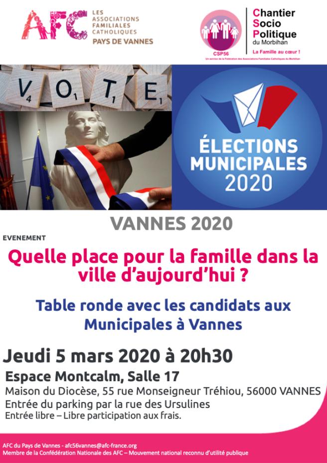 AFC56 Vannes - Municipales 2020